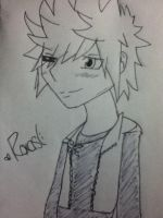 Roxas :D For Emixnaru by ImRougeTheBat