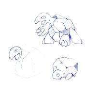 Rock type fakemon concept by foliap