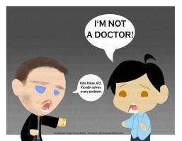 Two REAL doctors by mewgal