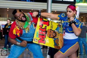 Chun-Li vs Mr. T by littlewashu88