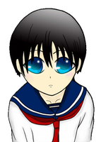 Young Smiling Ciel Animation by VictoriaChen