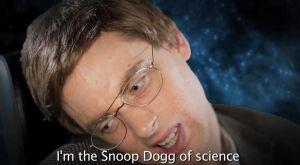 Nice Peter as Stephen Hawking by Faceskinator
