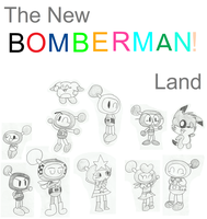 The New Bomberman Land - Main Cast by Bomberdrawer