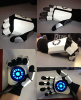 Portal Gauntlet(Finger Upgrades) by ThePandaPastry