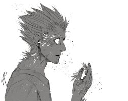 Young Vash The Stampede by ViciousJay