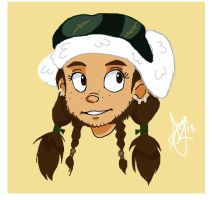Young Female Dwarf by LeTwigs