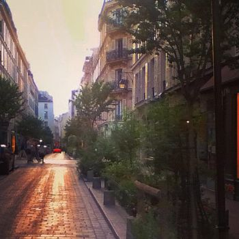 Rue des Rosiers by CrystoX