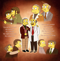 TS - My Everything Burns/Smithers Sr. by gabrielcic
