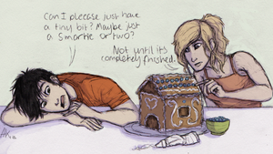 Baking With Percabeth by Deesney