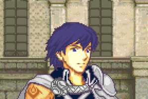 Old school Chrom by Ronku