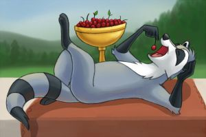 Cherries by shinywoof