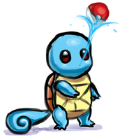Squirtle by KAttAKIN