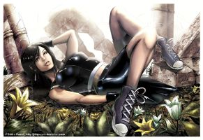 Tifa FFVII A.C by J-Estacado