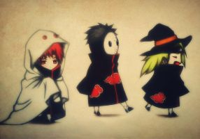 Let's Spook The Other Akatsuki Member by RedwoodKitten