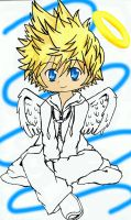 Roxas-White winged by HAPPLES-XD