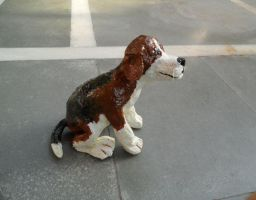 Beagle Sculpture by aakritiarts