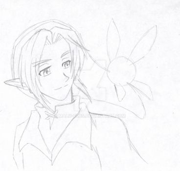 OoT 10th anniversary sketch by Malu-CLBS
