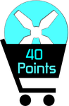40 Points by TheRedCrown