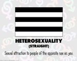 RAINBOW FLAGS: Heterosexuality by Adcro