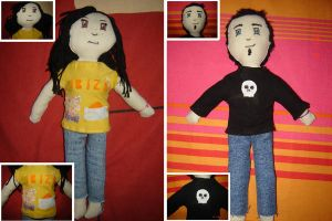 2 puppets by Kahall