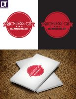 Logo PRICELESS GIFT Idea makers since 1977. by artdigitalazax