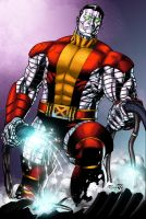 Colossus - Colors by TrinityMathews