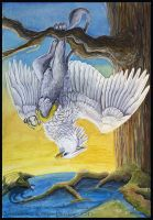 Gryphon Tarot - Suspension by silvermoonnw