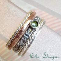 Stacking Ring Set by che4u