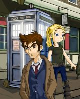 Jenny and the Doctor by Glee-chan