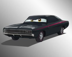 68 charger rt by immortalwolfhunter