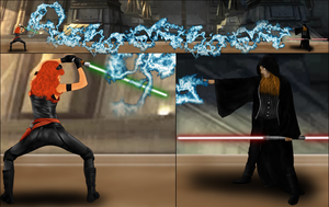 Jedi vs Sith by hkv3