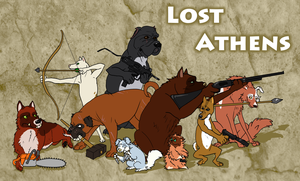 Lost Athens Advertisment by corvusraven