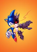 Indestructible Sonic by dadich