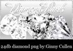 Diamond Png Pack by ginnycullen