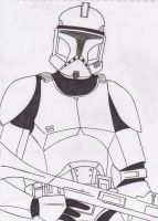 Phase I clone trooper / unfinished teaser by Funtimes