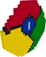 Google Chrome Legomosaic by gpsc