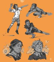 Haikyuu Lovelies by frizz-bee