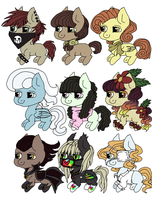 Draw to Adopt # 2 by nubblebubble123