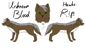 Unknown Blood - Rip Reference by fluffylovey