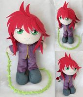 Commission, Plushie Yoko Kurama by ThePlushieLady