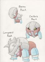 Fakemon - Rock Solid by dragonkitteh