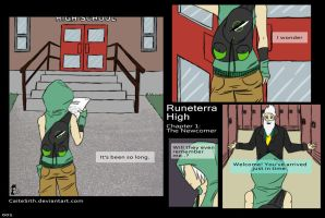 Runeterra High: Ch1 Pg1 by CaiteSith