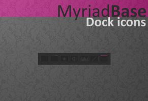 Myriad Base Dock Icons by AlbinoAsian