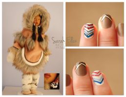 Doll Challenge: Inuit Nails by RobertsPhotography