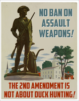 No Ban on Assault Weapons! by poasterchild