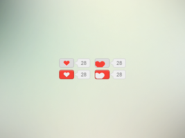 Love buttons by Idered