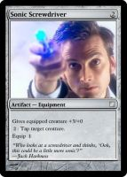 MtG: Sonic Screwdriver by Itachi-Lawliet