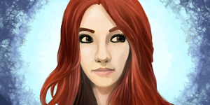Amy Pond by NovaMirage