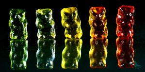 jelly bears by Gloeckchen87