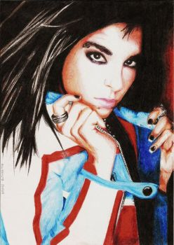 Bill Kaulitz 17 by crayon2papier